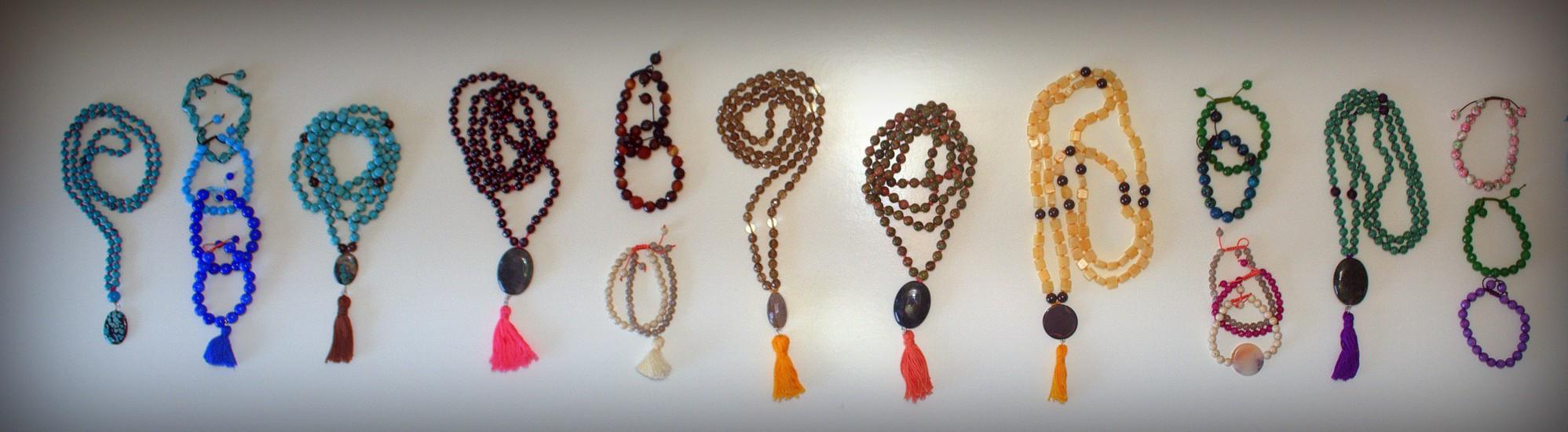 Viv's PURE: Handmade malas and bracelets